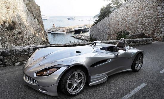 Silver Veritas RS III roadster