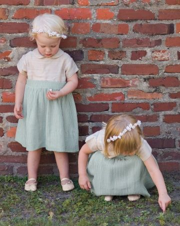 Handmade flower girl frocks #adorable