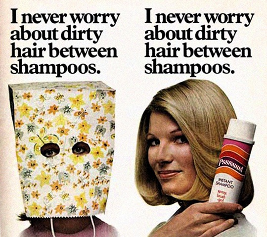 Haha! Funny ad.
