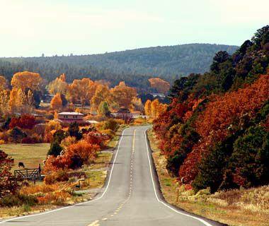The Enchanted Circle Scenic Byway, Taos, NM #bmc_fallcolors