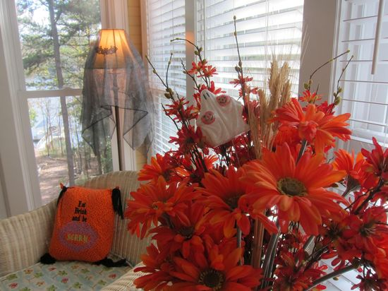 Halloween Home Decor Inspiration!  AQuirkyCreative.com