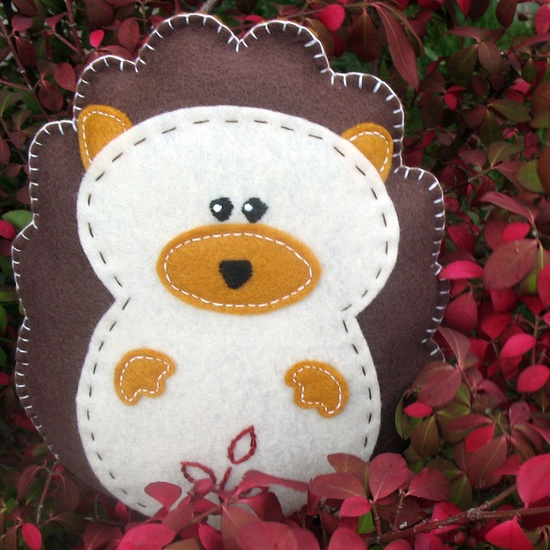 Hedgehog Stuffed Animal Hand Sewing PATTERN