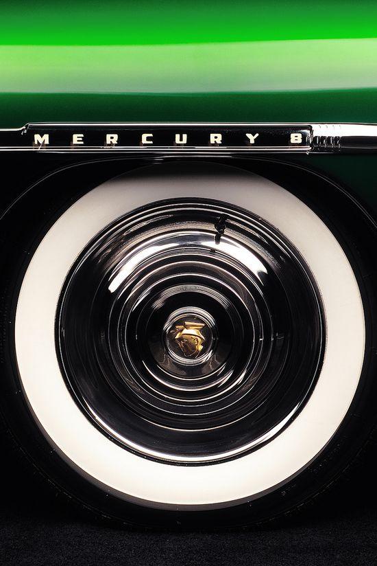 Mercury 8 #coolcars QuirkyRides.com