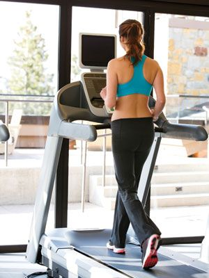 Burn Belly Fat With This Treadmill Workout : Bust out of a workout rut with this fat-torching routine.  #SelfMagazine