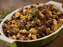 Sourdough Bread Stuffing : Recipes : Cooking Channel