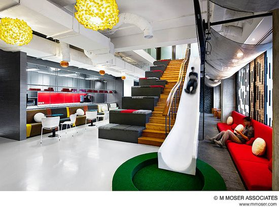 Creative office design by M Moser