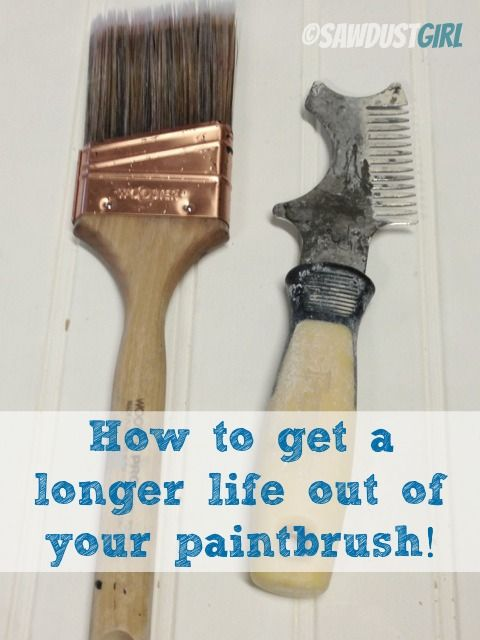 Proper Paintbrush Care