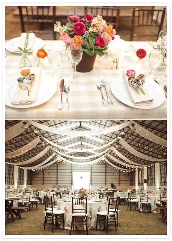 gorgeous reception hall