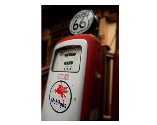 Fine Art Photograph - Gas Pump - Vintage - Antique - Shabby Chic - Red - Cottage Decor - Home Decor - Art Print - Wall Decoration - 6X9