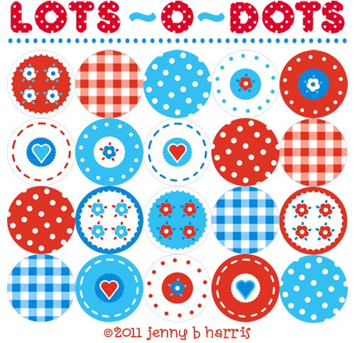 4th of July printable cupcake toppers.