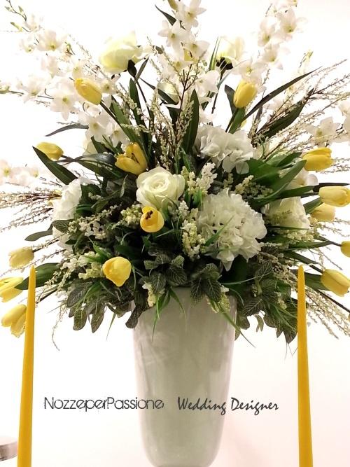 Flowers arrangements ideas by Nozze per Passione e Gkvisualab
