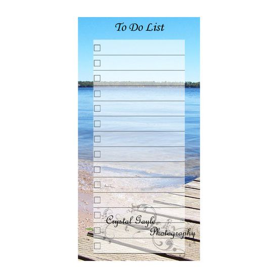 Planner Magnetic To Do or Grocery List by CrystalGaylePhoto, $12.00
