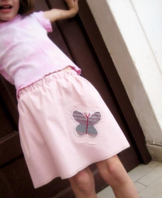 Butterfly Handmade skirt by ERGANIweaving on Etsy, $22.00