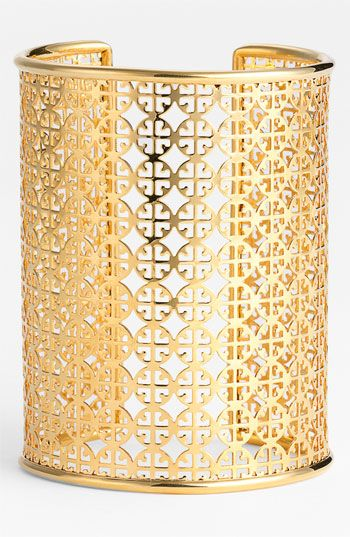 gold tory burch cuff