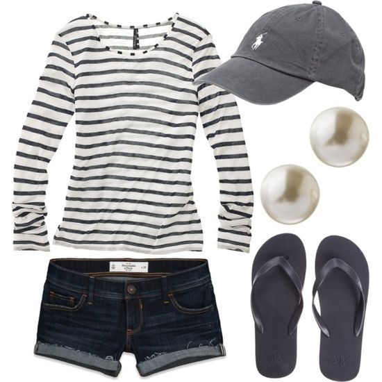 Casual Outfit - slightly longer short and it is absorbs!