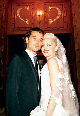 Gavin Rossdale and Gwen Stefani at Their Wedding - So beautiful!