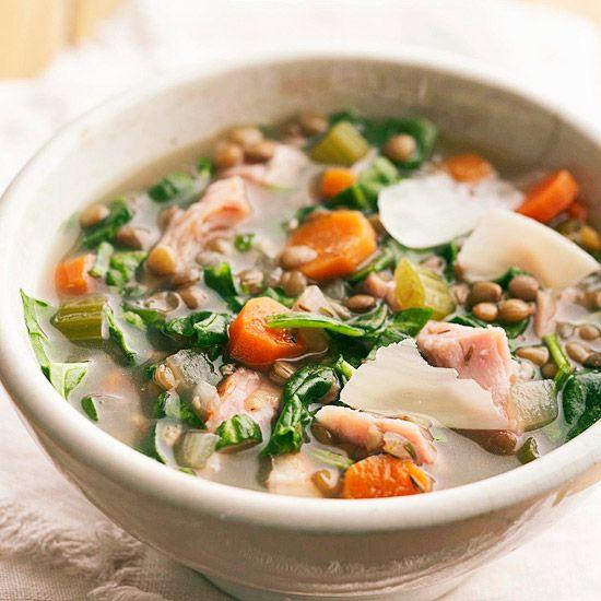 BHG: Lentil-Ham Soup