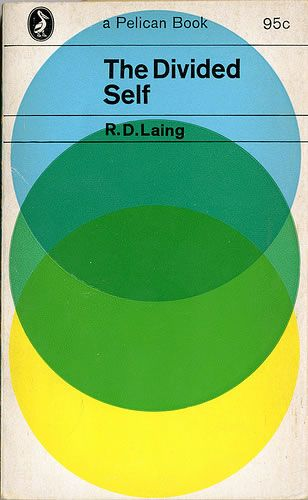 Vintage Book Cover - The divided self, R.D.Laing