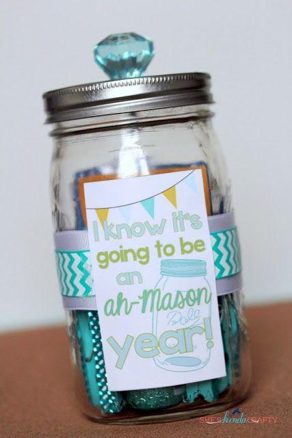 Such a cute teacher gift idea
