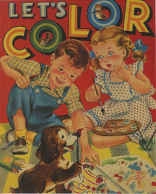 1940 coloring book