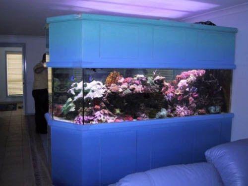 aquarium in home interior decorating 17