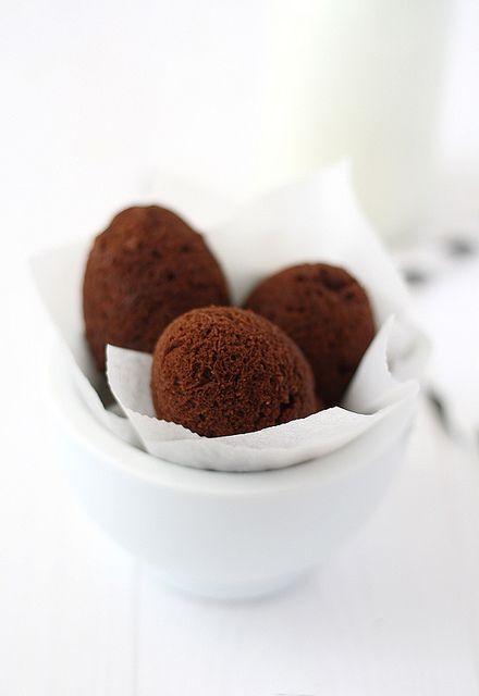 brownie chocOlate eggs