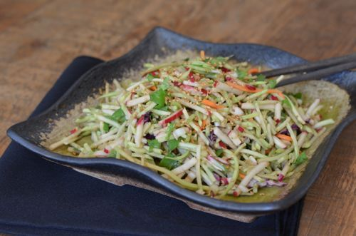 Recipe: Asian Coleslaw (with Radish MiniSticks!) - 100 Days of Real Food