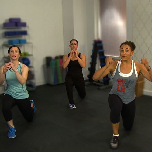 10-Minute Full-Body Crossfit Workout