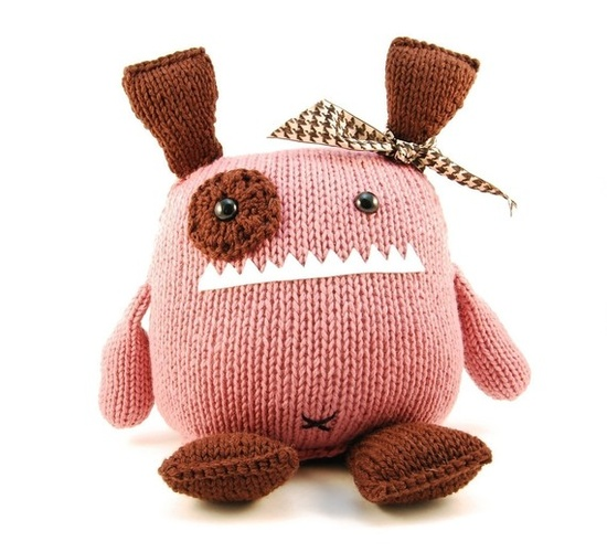 Penelope the Empathetic Monster  Gotta make this for my niece and maybe my own kids!