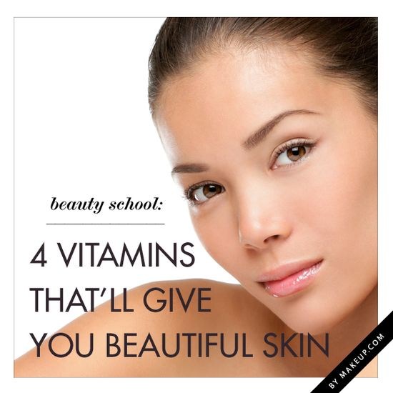 the top 4 vitamins to give you beautiful glowing skin