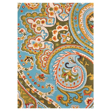 Add a pop of style to your d?cor with this eye-catching rug, perfect for your living room, home office, or master suite.   Product: Ru...