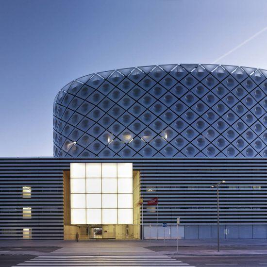 Rey Juan Carlos Hospital / Rafael De La-Hoz, Madrid, Spain