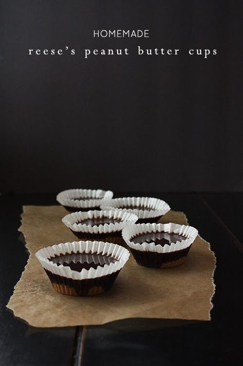 summer harms: DIY Reese's Peanut Butter Cups