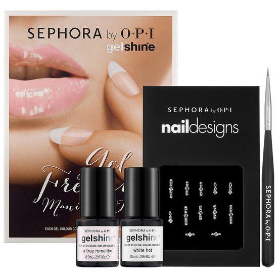 New at #Sephora: Sephora by OPI Gel French Manicure Kit #gelshine #nails #nailart #SephoraNailspotting