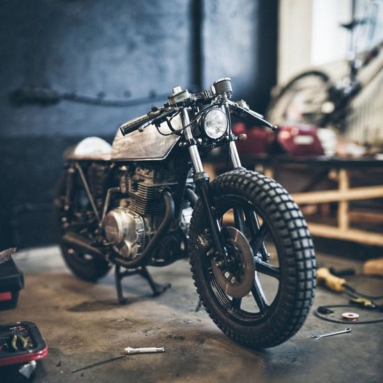 Yamaha XS 360 by The Hookie