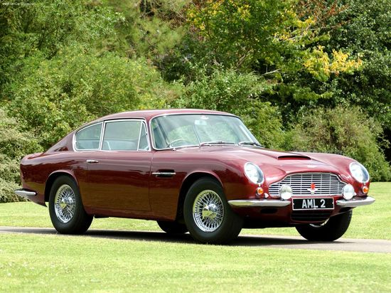 Dream Car, DB6!