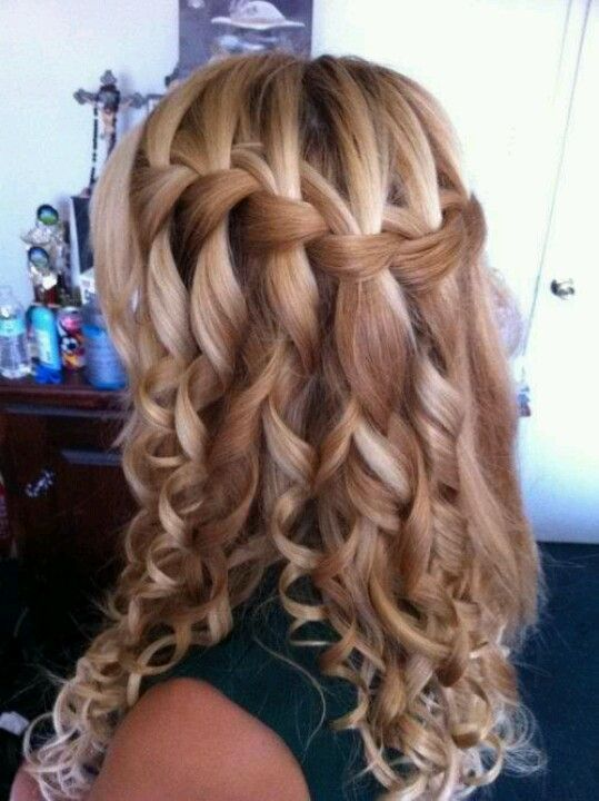 waterfall braid      I haved did that befor