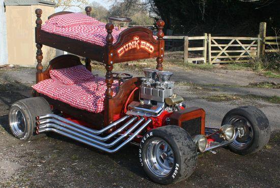 Bunk Bed Classic Custom Car Hot Rod