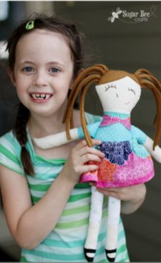 LOVE this DIY handmade doll!!  perfect gift for baby's first day even