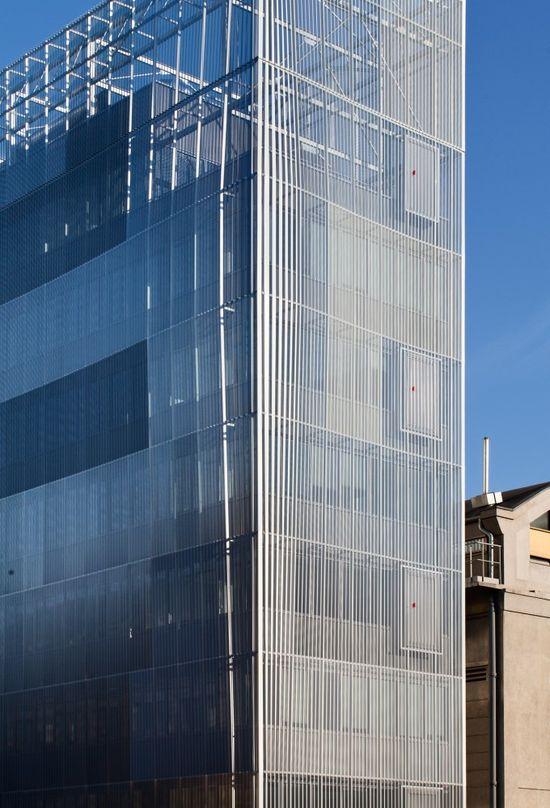 M3A2 Cultural and Community Tower / Antonini   Darmon Architectes