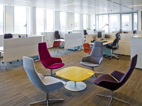 Open Plan Office Design - Design Portfolio - Image Gallery