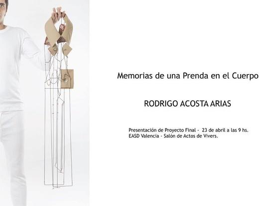 Rodrigo Acosta   - EASD Valencia - 23 avril 2013