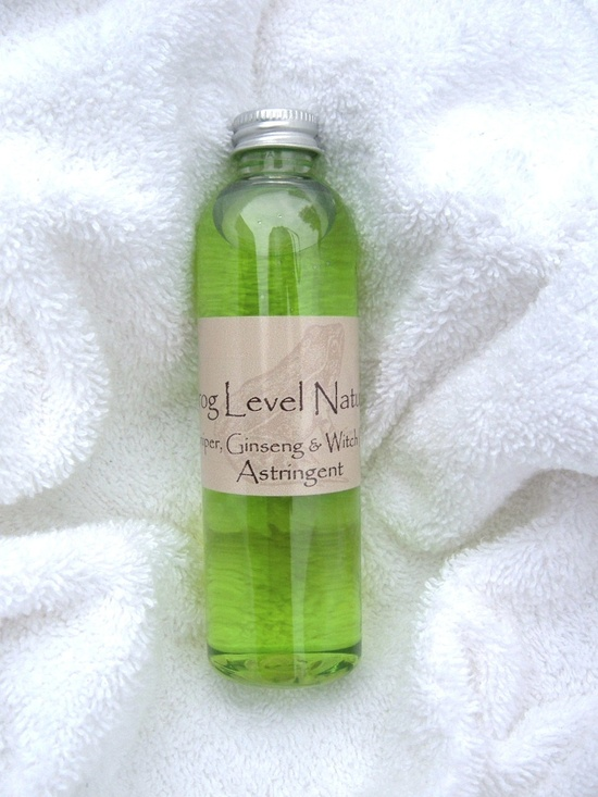 #Juniper, #Ginseng & Witch Hazel #Toner Astringent, #Natural #Organic #Skin Care for Everyone