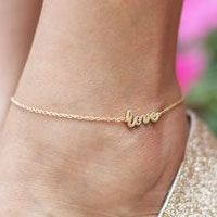 Love Anklet