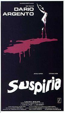 Suspiria-- 1977 Italian horror
