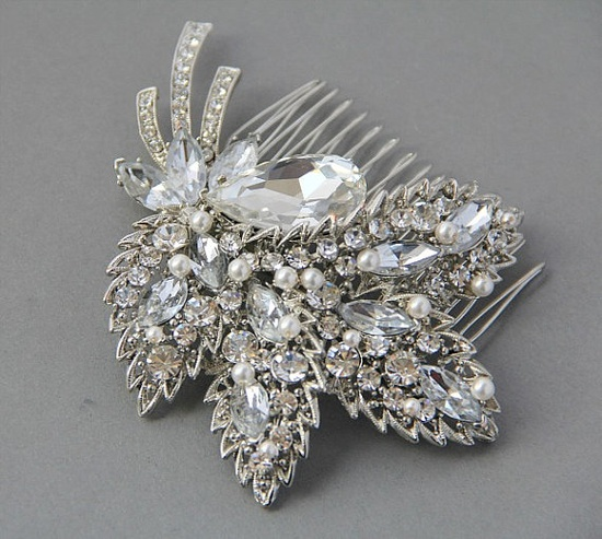 Vintage Wedding hair comb