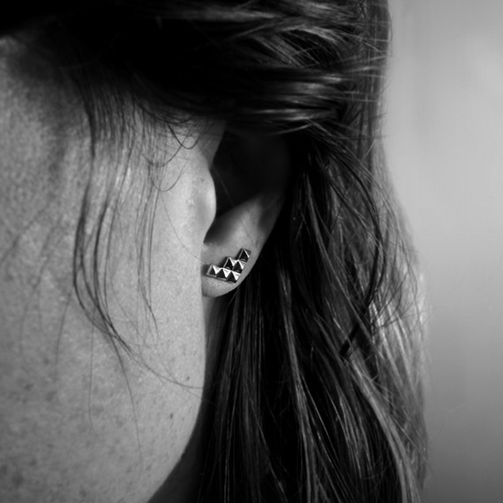 stud earrings by atelier l.a.f.