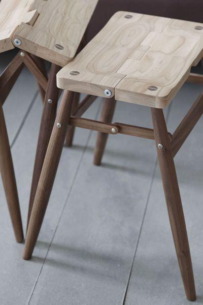 fjordflower:    imo folding stool  pinch design