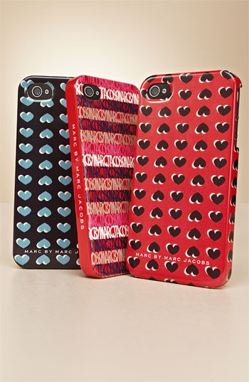 MARC BY MARC JACOBS 'Light Hearted' iPhone 4 & 4S Case