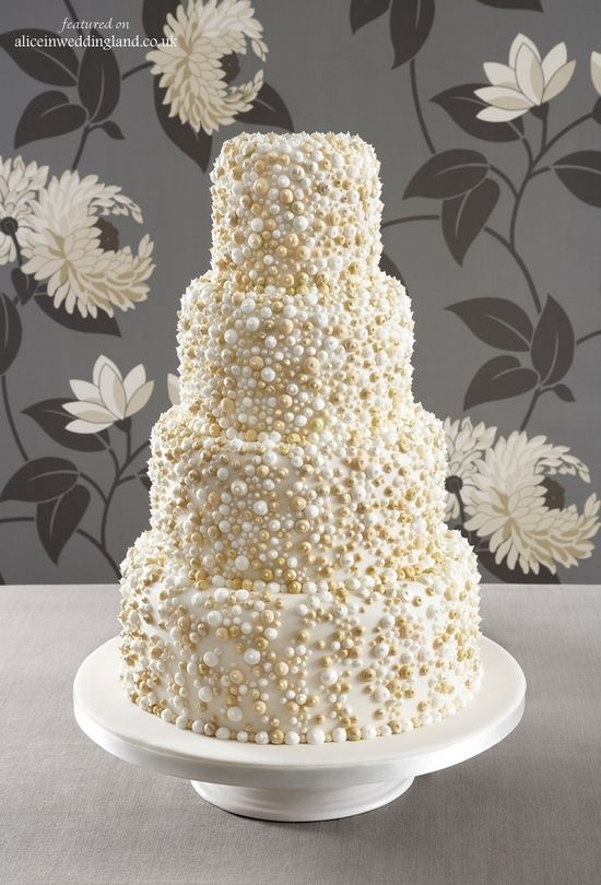 Beautiful wedding cake! #wedding #cake #white